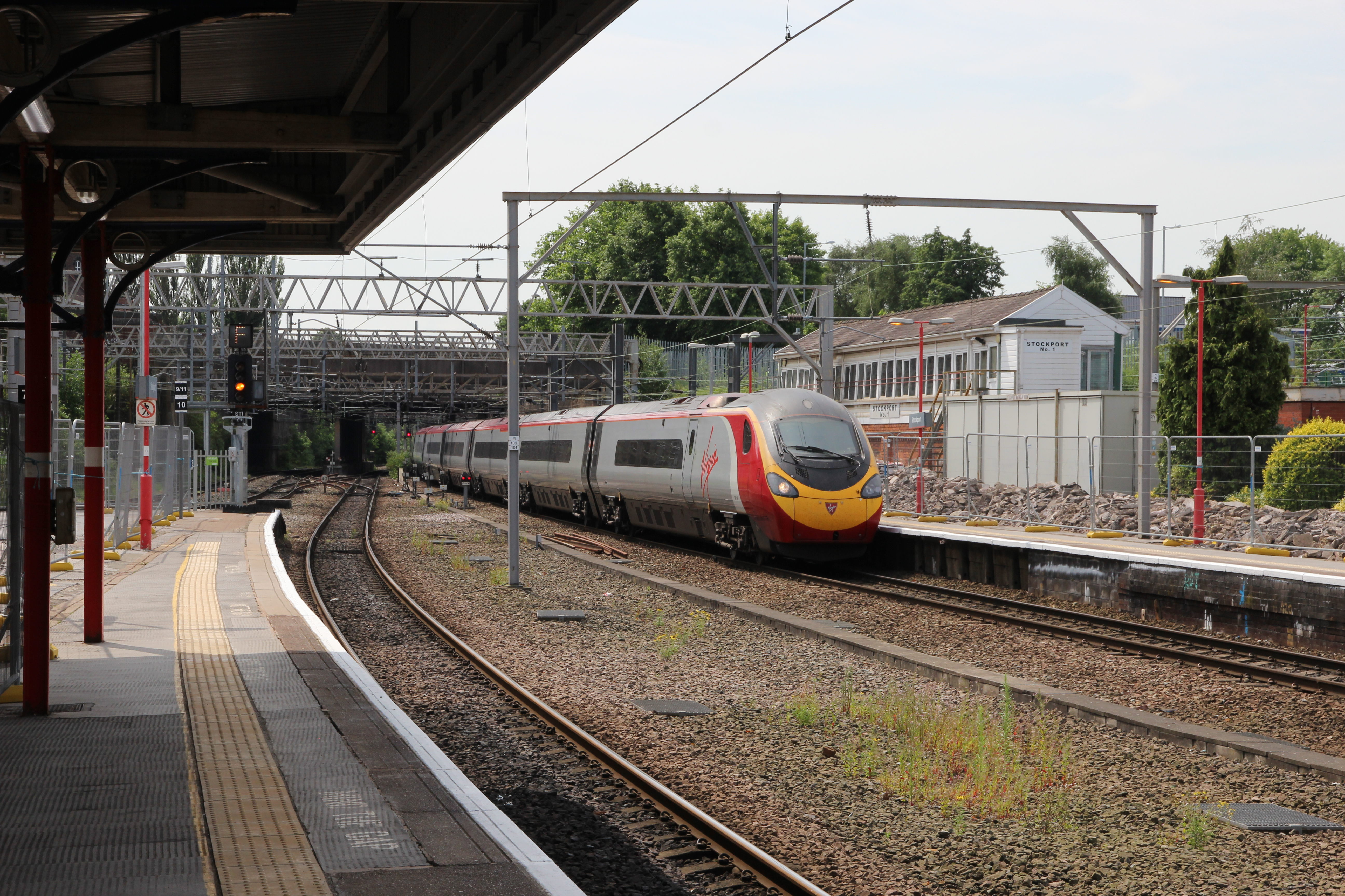 CIRAS - Dispatch safer at Stockport Station after review